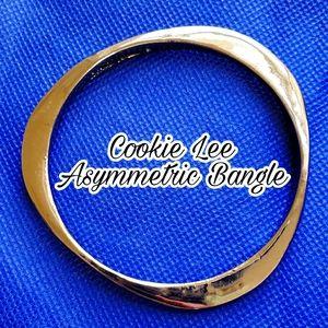 Vintage Cookie Lee Asymmetric Bangle